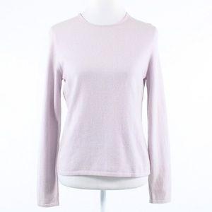 Ann Taylor light pink crewneck sweater M
